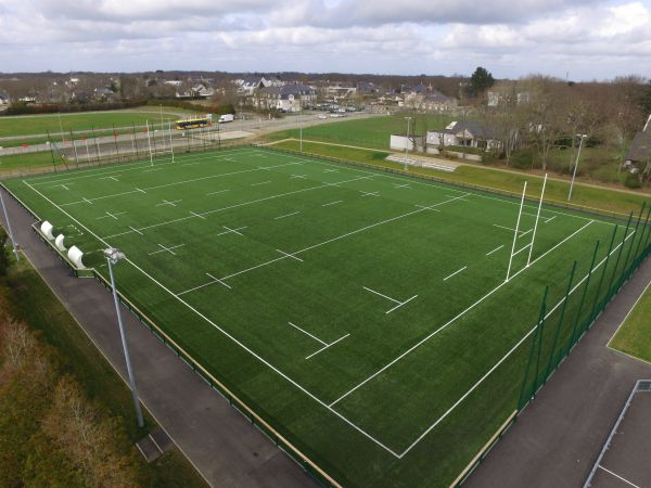 Terrain de rugby en gazon synthetique - Sportingsols