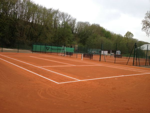 courts de tennis en terre battue - Sportingsols