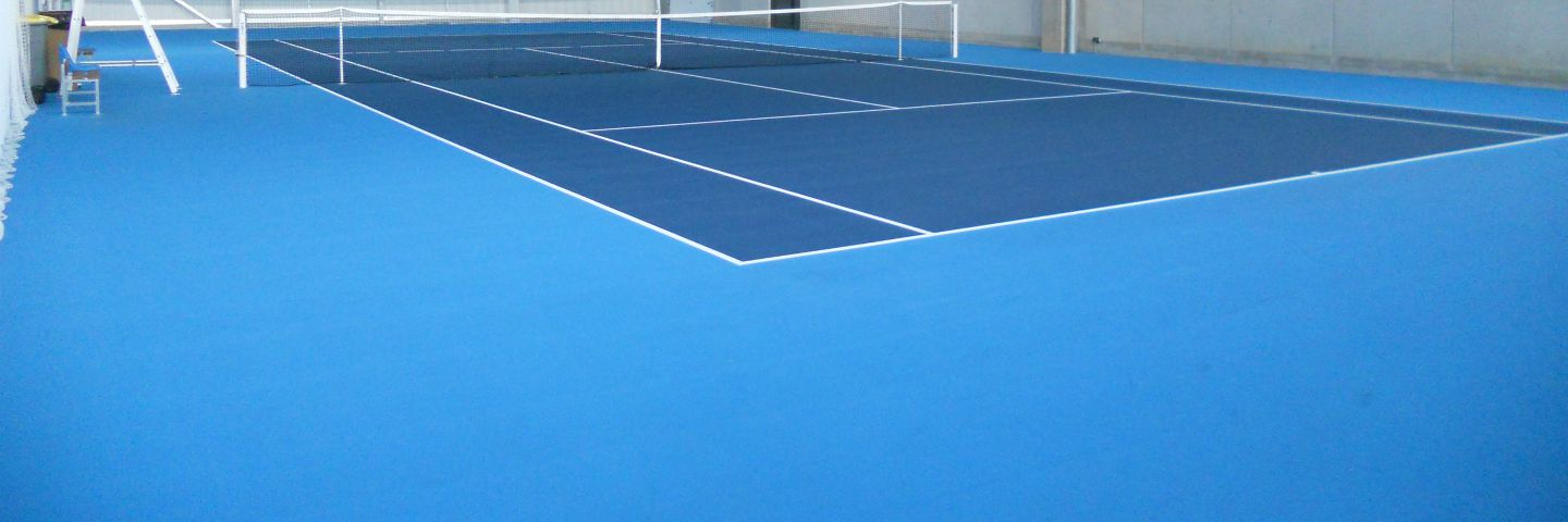 creation de courts de tennis en resine acrylique - Sportingsols